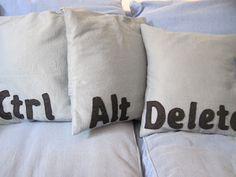 Geek cushions