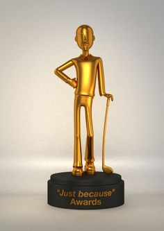 """Just because"" Awards by Sirbu Alin, via Behance"