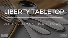 """Sherrill Manufacturing is the only company left in the United States making flatware. Our company prides itself on producing high-quality products at different price points that fit all budgets and represent a great value to our customers. There are many reasons, some obvious and some subtle, to purchase products made in the United States whenever possible. As supporters of """"Made in U.S.A."""" we believe that preserving manufacturing jobs is critical to maintaining a strong economy and…"""