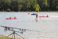 paddle, canoë, pédalos, pêche... le bonheur des vacanciers !