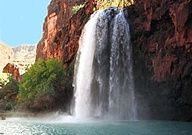 Havasu Falls - on Indian lands deep in the Grand Canyon