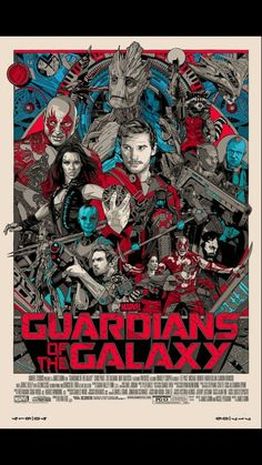 Guardians of the Galaxy This should be the movie cover...