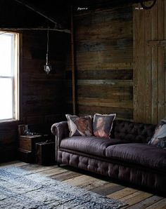 ANTHROPOLOGIE- LOVE THE COUCH AND THE WALLS <3