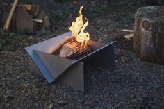 Stahl portable firepit