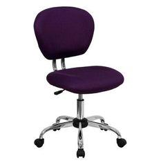Zipcode Design Baxley Mesh Desk Chair Color: Purple Mesh
