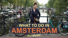Our favourite poppie Suzelle DIY, is on holiday in Amsterdam, and takes us on a whistle stop (and entertaining) tour of this beautiful city . Amsterdam Holidays, Amsterdam Things To Do In, Going On Holiday, A Funny, Embedded Image Permalink, South Africa, Handsome, African, Celebs