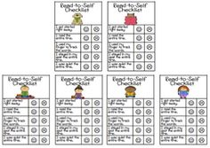 Read-to-Self Checklists, Sticker Charts, and Weekly Logs! Reading Intervention Strategies, Read To Self, Reading Recovery, Sticker Chart, Independent Reading, Student Motivation, Reading Time, Dry Erase Markers, Daily 5