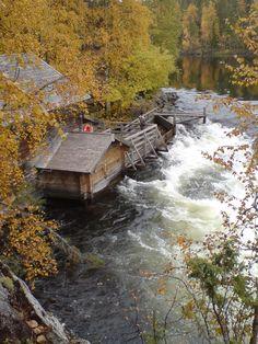 Kuusamon Myllykoski Finland