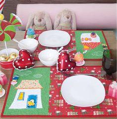 Ainda dá tempo para o Natal! Neste Natal, faça uma mesa só para os pequenos. O projeto é da ed. 59.