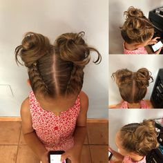Ag Doll Hairstyles, Toddler Braided Hairstyles, Toddler Braids, Baby Girl Hairstyles, Braids For Kids, Hairstyles For School, Cute Hairstyles, Baby Hair Dos, Hair Cuts