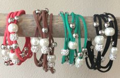 Leather Beaded Bracelets 75% off at Groopdealz