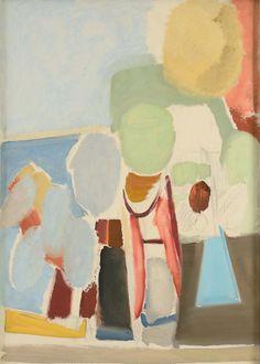 Ivon Hitchens Sky & Sea 1936-37 Oil on Canvas