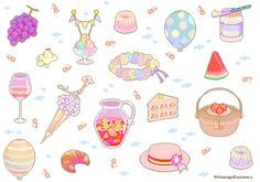 """bitmapdreams: """" Here they are! ★ early summer seaside carnival ♦︎ art deco…"""