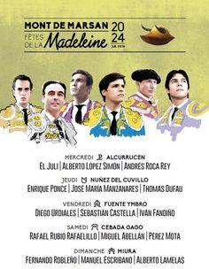Féria Mont de Marsan : les fêtes de la Madeleine