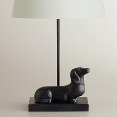 Dachshund Accent Lamp Base | World Market