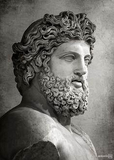 Jupiter of Versailles bust Rome, 2nd century A.D Musée du Louvre, Paris antonio-m. on Flickr.