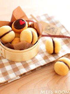 チョコサンドクッキー(バーチディダーマ) レシピ