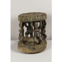 Tabouret dogon très ancien (Mali) - Sièges et tabourets - Objets en bois et objets singuliers - Art africain du Mali et du Burkina Faso
