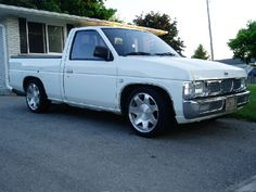 1993 Nissan pickup- my 3rd vehicle, mine was cherry pearl red. The first brand new anything I ever bought. wish I would have kept it