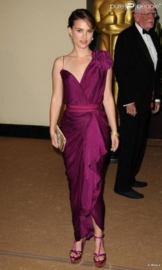 Natalie Portman in Lanvin, 2010