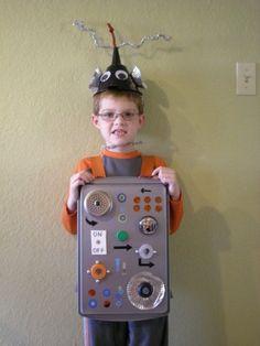 love the Robot!! DIY!!