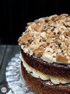 Jaleo en la Cocina: ¡Evento Belbake + Naked cake de chocolate y avellana!