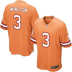 e734d4c1a Jameis Winston Men s Limited Orange Jersey  Nike NFL Tampa Bay Buccaneers  Alternate  3 Nike