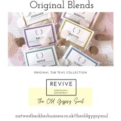 Revive bath blend of natural salts and essential oils