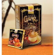 Gano Cafe 3-in-1 by Gano Excel USA Inc. - 20 Sachets, (oils)