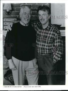 "1995 Press Photo James Coburn and Tom Skerritt on Television's ""Picket Fences"" Tom Skerritt, Picket Fences, Press Photo, Michigan, Toms, Pure Products, Best Deals, Ebay, Fencing"