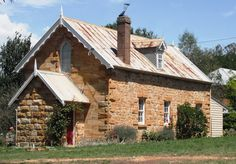 sandstone buildings free state - Google Search Free State, South Africa, Cabin, Buildings, House Styles, Google Search, Sheds, Houses, Stone