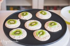 Receta para ninos con kiwis Zespri: Tortitas de trigo sarraceno y kiwi - Tigriteando