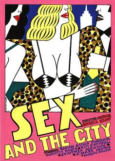 Sex & the City Polish Poster