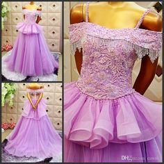 Elegant off shoulder a line short train light purple wedding dresses prom gown  with beaded