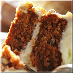 The Double Musky Carrot Cake.  Best.Carrot.Cake.Ever.