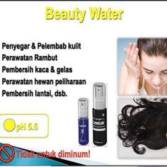 Dikemas dalam kemasan 100ml dan 250ml Harga 100ml ; 35K dan 250 ; 50K Tentukan cantikmu dari sekarang #beautywater