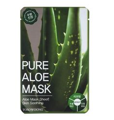 Tosowoong Pure Aloe Mask is a divine sheet mask bathed in high quality aloe vera extract which nourishes skin to achieve a flawless complexion. Skin Care Regimen, Skin Care Tips, Aloe Vera Face Mask, Happy Skin, Prevent Wrinkles, Skin Firming, Skin Problems, Good Skin, Pure Products