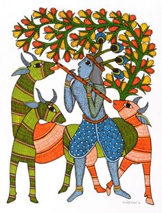 An initiative to share the treasures of Indian textiles to the globe Pichwai Paintings, Indian Art Paintings, Madhubani Art, Madhubani Painting, Indian Traditional Paintings, Traditional Art, Phad Painting, Kalamkari Painting, Kerala Mural Painting
