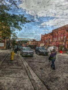 Downtown Port Perry Durham Region, Beautiful Scenery, Ontario, Dan, Community