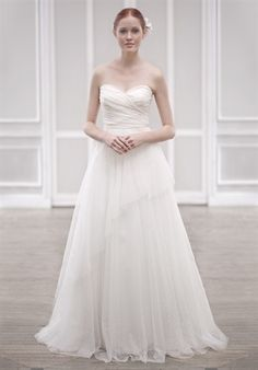 LOVE Jenny Yoo... this is the bridal version of the dress I wore for Jere and Ash's wedding, I think!
