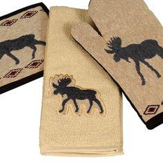 Moose Terry Towel
