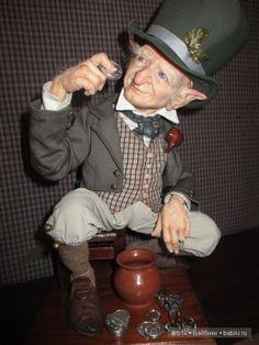 Лепрекон Патрик. Авторская кукла Катрушовой Татьяны / Авторские куклы своими руками, ручной работы / Бэйбики. Куклы фото. Одежда для кукол