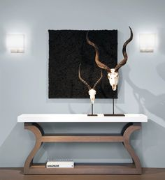Galion Console, Hussard Sconce