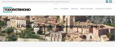 BIBLIOTECOLOGÍA Y EDUCACIÓN: TODOPATRIMONIO.COM Portal de información sobre doc...
