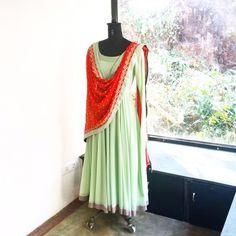 Diti(Sea Green) Indian Attire, Indian Wear, Indian Outfits, Stylish Dress Book, Stylish Dresses, Anarkali Dress, Pakistani Dresses, Anarkali Suits, Indian Bridesmaids
