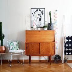 Common Room, Vintage Soul, Credenza, Vintage Furniture, Interiors, Cabinet, Storage, Inspiration, Home Decor
