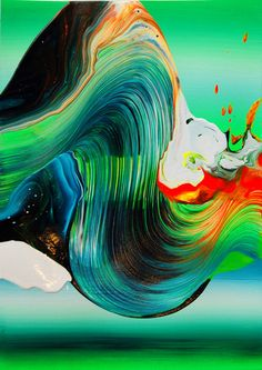 8 | Yago Hortal Creates Paintings With Breathtaking Color Smears [Slideshow] | Co.Design: business + innovation + design