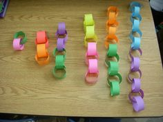 """doubles chains"" I made for teaching doubles to my first graders!"