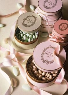 Laduree almonds