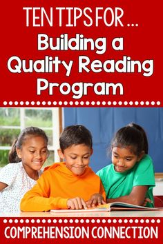 Quality reading programs start with Tier 1 instruction in the classroom. Sound insructional practices build a love of reading and make the reading-writing connection. Check out this post for ten practices each teacher needs for building lifelong readers.